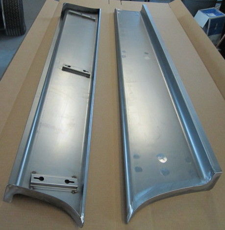 Chevy Truck Running Boards 1947 54 Smooth 2 Quot Wider