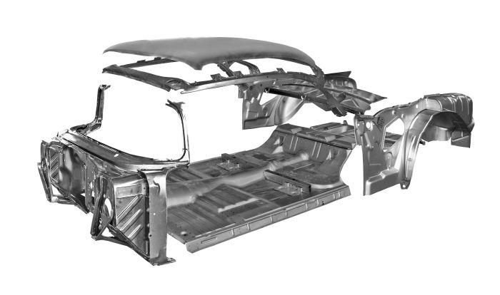 Chevy Car Parts 1955 57 Car Bodies 1957 2 Door Hardtop