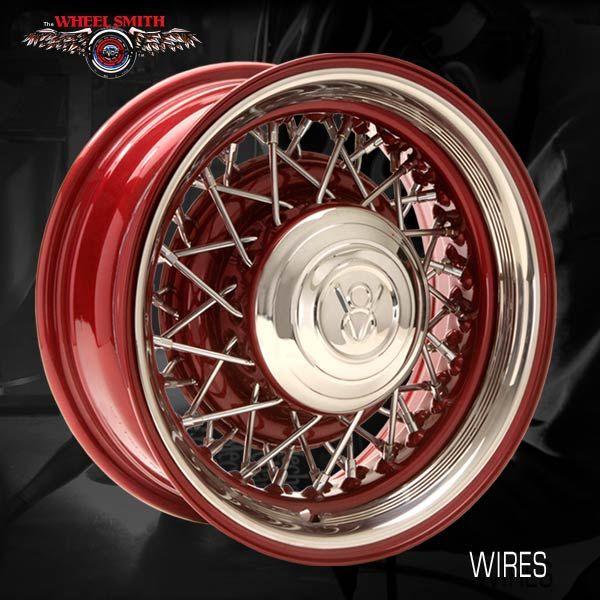 Premier Street Rod Parts Tws Ws Wire Wheel Bare W