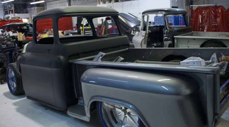Premier Street Rod Custom Truck Build