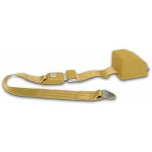 2 Point Retractable Goldenrod Lap Seat Belt (1 Belt) Photo Main