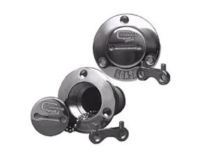 Flush Mount Gas Cap Stainless  Photo Main