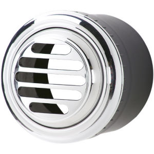A/C Vent Round W/ Billet Bezel - Slotted Photo Main