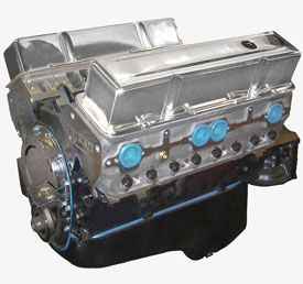 Base 383ci Long Block SBC w/ Aluminum Heads and Roller Cam, Forged Internals, 1pc RMS - 440HP / 445FT LBS Photo Main