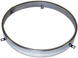 1941-72 Chevrolet / GMC Truck Headlight Retaining Ring 7 inch (polished stainless steel) Photo Main