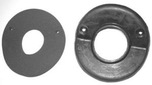 1947-55 1st Series Chevrolet Truck Steering Column Floor Seal, (w/sponge toe-pad 4-speed) Photo Main