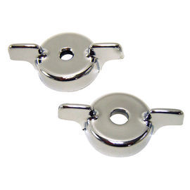 1955-59 Chevrolet Truck Radio Flipper Knobs, Chrome Plastic  Main Image