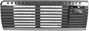 "1947-53 GMC Truck Dash Speaker Grill with Ash Tray, ""GMC"" Photo Main"