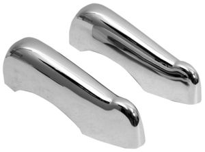 1947-55 1st Series Chevrolet Truck Bumper Guards, Front or Rear Chrome Photo Main
