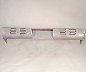 1954-87 CHEVROLET REAR ROLL PAN - LOUVERED 4 ROWS WITH BOX, STEPSIDE Photo Main