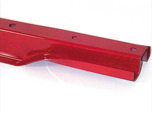 Chevy Truck Parts: Chevy Bed Cross Braces 1955-59 2ND CHEVROLET CROSS SILL #3 W/ HOLES & BRACKET - SHORT BED STEPSIDE