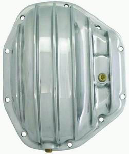Polished Aluminum Differential Cover Ford F350 1995-Up Dana 80 10 Bolt  Photo Main
