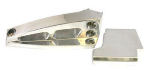 Polished Aluminum BBC Air Conditioning Bracket Kit (SWP) Photo Main