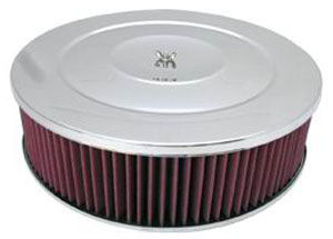 "Performance Style Air Cleaner W/ Recessed Base 14"" X 4"" - Washable Element Photo Main"