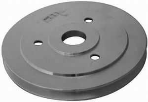 Satin BBC Single Groove Pulley  Crankshaft (SWP) Photo Main