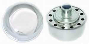 Chrome Steel Push-In Breather Cap Photo Main