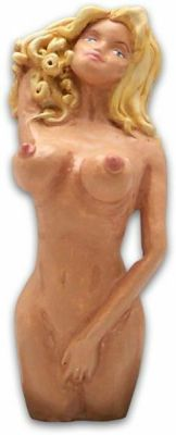 Candy Blonde Naked Lady Shift Knob Photo Main