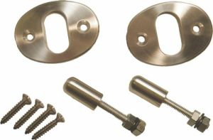 Billet Knob Set With Plates For Bear Claw Latches Photo Main