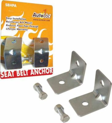Angled Seat Belt Anchor Plate Hardware Pack Photo Main