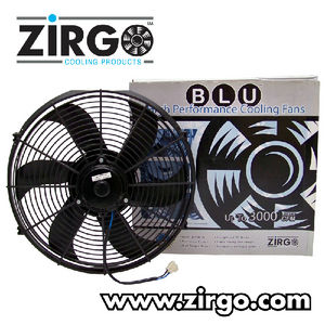 "10"" Zirgo 1019 fCFM High Performance Blu Cooling Fan  Photo Main"