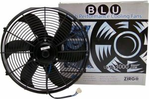 "9"" Zirgo 850 fCFM S Blade High Performance Blu Cooling Fan  Photo Main"