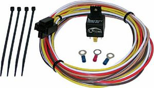 Electric Fan Relay Kit with Plug n Play Harness  Photo Main