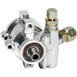 Polished Maval Power Steering Pump