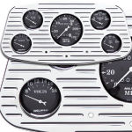 Billet Dash Insert '33-'34 Ford Polished