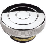 Billet Radiator Cap 16lbs Circle Polished
