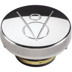 Billet Radiator Cap 16lbs V8 Polished