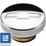 Billet Radiator Cap 7lbs Bowtie Polished