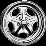 Billet Specialties Vintage Series - Outlaw Wheel, Polished