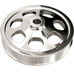 Billet Power Steering Pulley (Saginaw '77-Up) Press-On Style