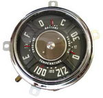 1947-49 Chevrolet Truck Gauge Cluster Assembly - 12 Volt, 6 Cyl