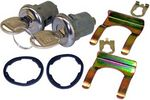 1967-72 Chevrolet Truck Door Lock Cylinders with 2 Matching Keys
