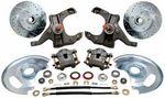 1963-70 Chevrolet Truck O.E.M. Stock Spindle Disc Wheel Kit (6x5.5), 6-lug, Stock Height