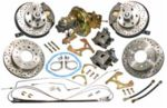 1967-72 CHEVROLET TRUCK COMPLETE FRONT & REAR DISC BRAKE KITS, 5X5 5 LUG