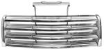 1947-53 GMC Truck Grill Chrome w/ Ivory Color Back Bars
