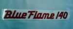 1956-57 Chevrolet Blue flame 140 mt/at valve cover