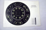 1950-53T Chevy TK speedometer decal set