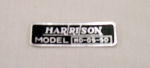 1949-51 Chevrolet Harrison heater decal