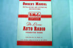 1951 Ford Radio owners manual (Deluxe)