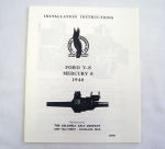 1940/1940T Ford Columbia axle installation instruction