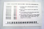 1928-30 Ford Model A speed-o-meter decal set