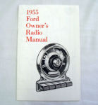 1955 Ford Radio owners manual