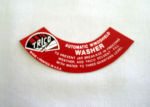 1946-48 Ford Trico Windshield Washer Decal