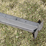 1947-51 CHEVROLET CROSS SILL W/ HOLES & BRACKET - STEPSIDE 1 TON