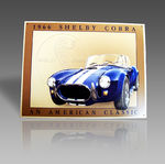 1966 SHELBY COBRA METAL SIGN