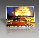 66 PARK IN THEATER METAL SIGN