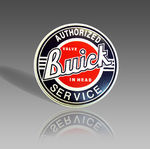AUTHORIZED BUICK METAL SIGN